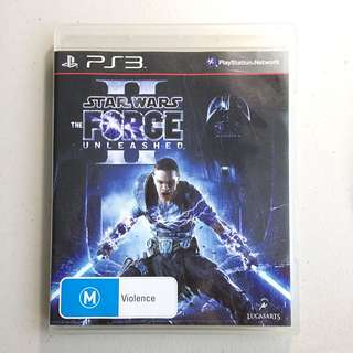 Star Wars: The Force Unleashed 2. PS3