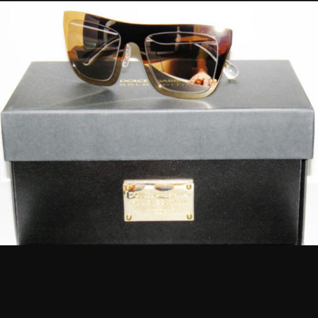 100% Authentic Luxury 18 K Gold Sunglasses
