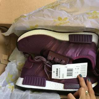 NMD VIOLET WOMEN US 7.5 EURO 38