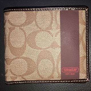 Coach Wallet Authentic Brand-New