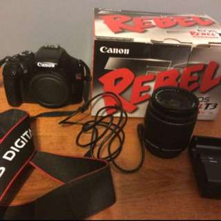 Canon EOS Rebel T3 With Kit Lens