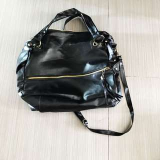 Black Sling/ Hand Carried Bag