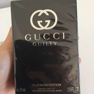 Gucci Guilty edt Platinum Edition 75ml