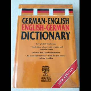 German-English English-German Dictionary