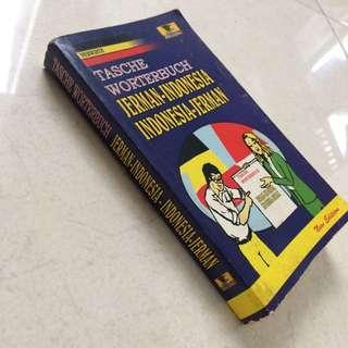 Kamus Jerman-indo Indo-jerman