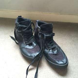 Black Rubi Shoes Sneakers