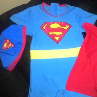SUPERMAN SWIMMING SUIT