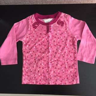 Baby Long Sleeves Top Baby Guess 12Months