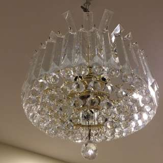 Beautiful Acrylic Chandelier