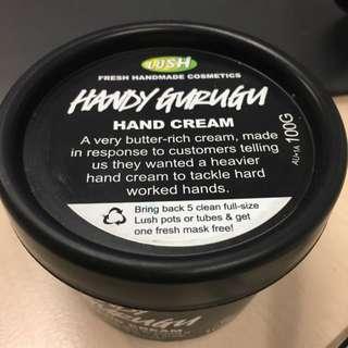 LUSH HAND CREAM HANDY GURUGU