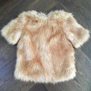 Faux Fur Jumper/Top/Coat