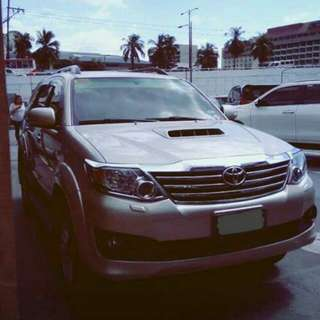 2013 Toyota Fortuner A/T