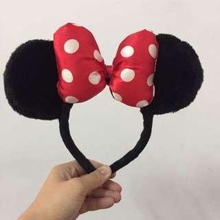 二手。香港迪士尼購入。米妮髮圈