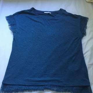 Blue T-shirt S