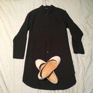 FCUK Shirt Dress Size10
