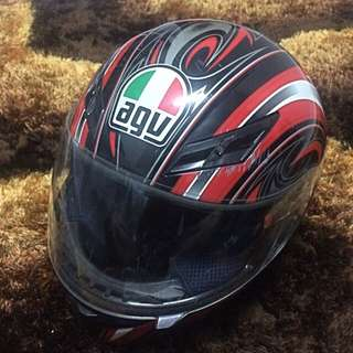 AGV K3 (Red) Helmet