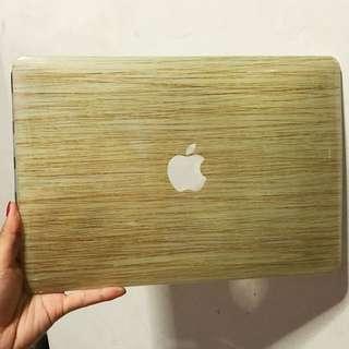Macbook Woody Design Hard Cover