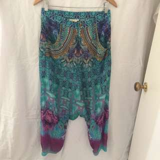 CAMILLA beautiful Drop Crotch Harem Pants