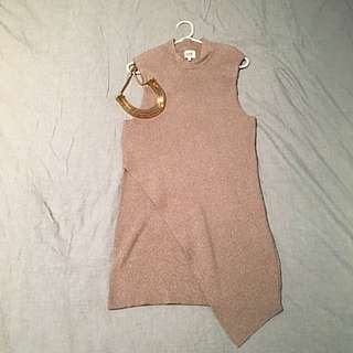 Seed Knit Dress SzL