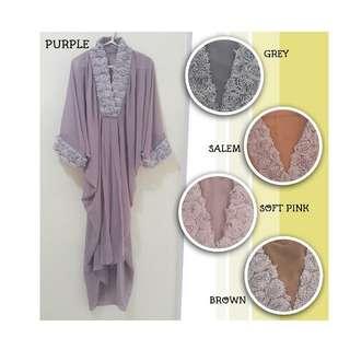 Sifon Dress Renda (no inner)