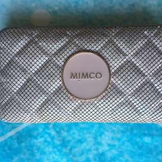Mimco Mesh Mash Wallet Purse Blush Pink