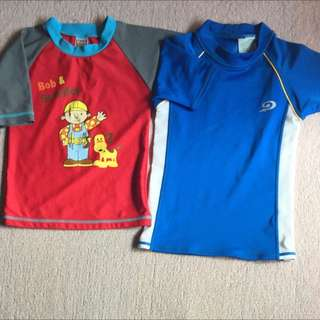 2 Pcs. Rash Guard For Kids
