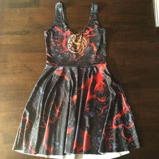 Blackmilk Game Of Thrones Skater Dress