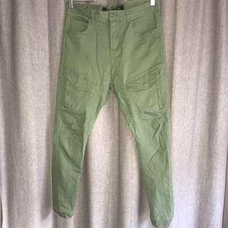 • Utility Pant • Elastic Cuffed Chinos