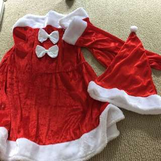 Ladies Sexy Santa Outfit