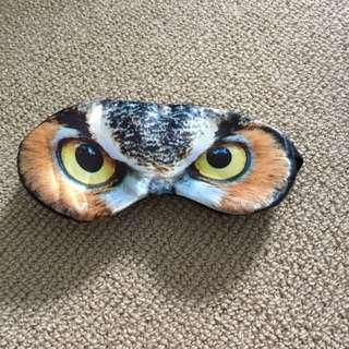 Owl Silk Sleep Mask