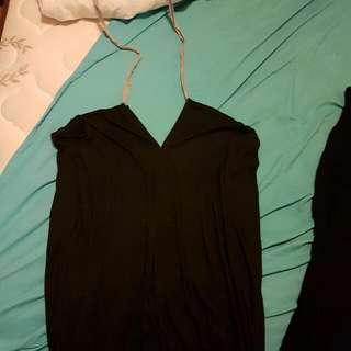 Multiway Black And Grey Summer/ Beach Dress