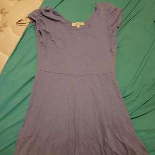 Short Summer / Beach Dress Blue