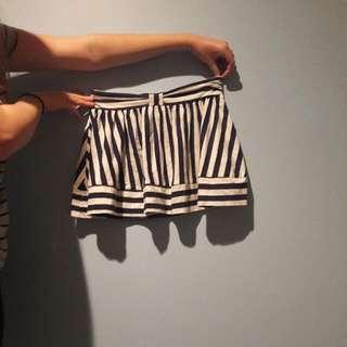 Stripped ASOS Skirt