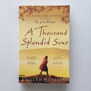 A Thousand Splendid Suns, Khalid Hosseini