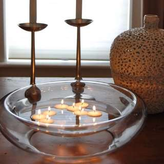 Floating Tea Light Candles
