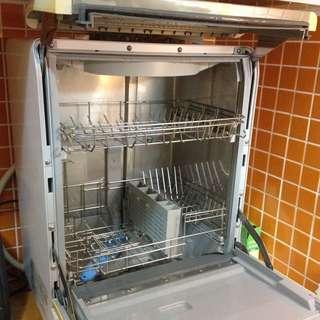 象印34L 桌上型洗碗烘碗機BW-GBF60(2手)