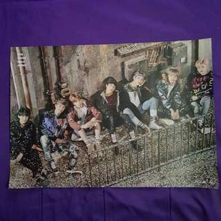 BTS YNWA Poster