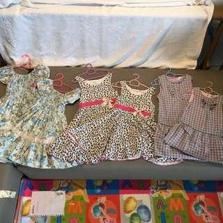 Sisters' Dresses set II