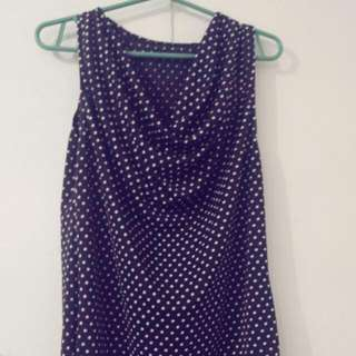 Folka Dots Top Sleeveless