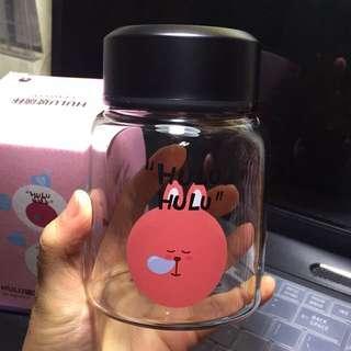 🚚 兔兔玻璃瓶 玻璃杯 300ml