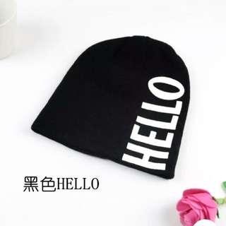 全新 Zara 黑色針織毛帽