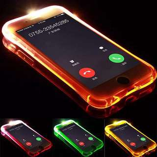 LED Incoming Call Flash Case