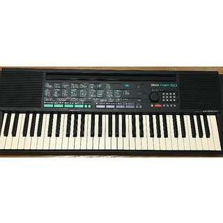 YAMAHA PSR 150 (2手電子琴)~初學者專用