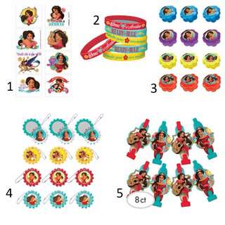 (Pre-Order)  Licensed Elena of Avalor Birthday Party Favors and Accessories