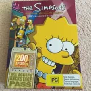 The SIMPSONS: The COMPLETE Season 9 DVD TV SERIES, As New, 4-DISCS BOX SET R4
