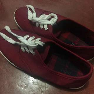 Forever 21 Red sneakers