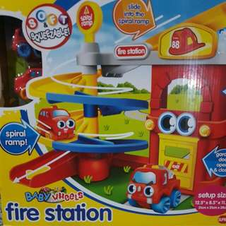 BNIB BabyWheels Fire Station