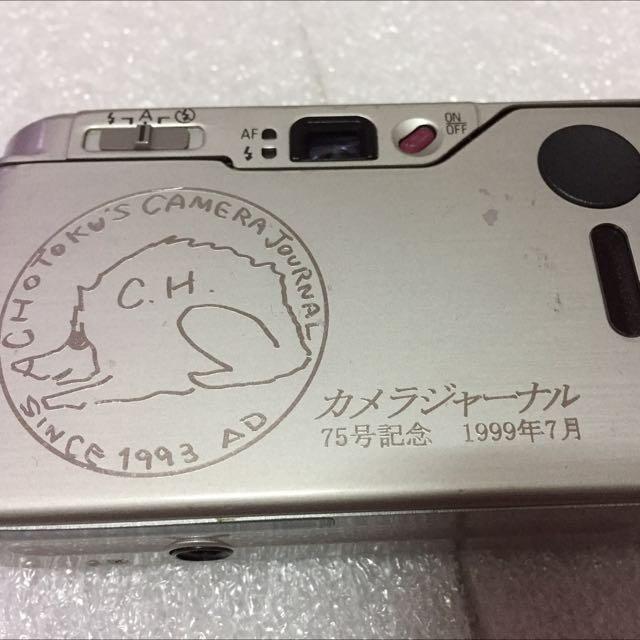 1999年 紀念機 限量款 Ricoh gr10 銀色 底片相機