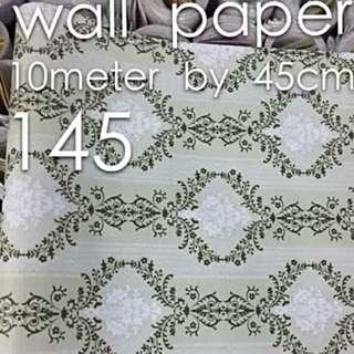 WALLPAPER Self Adhesive Pvc Vinyl Waterproof