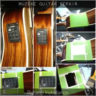 Muzeke Guitar & Violin Repair
